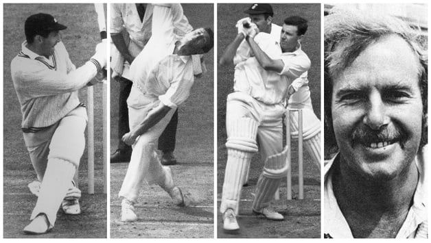 From left: Graham Dowling, Dayle Hadlee, Bruce Taylor (all © Getty Images), Bob Cunis (photo courtesy: Wikimedia Commons)