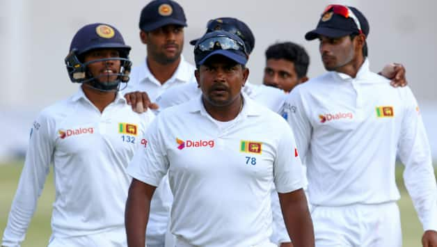 Rangana Herath took total 13 wickets in the 2nd Test against Zimbabwe  © AFP