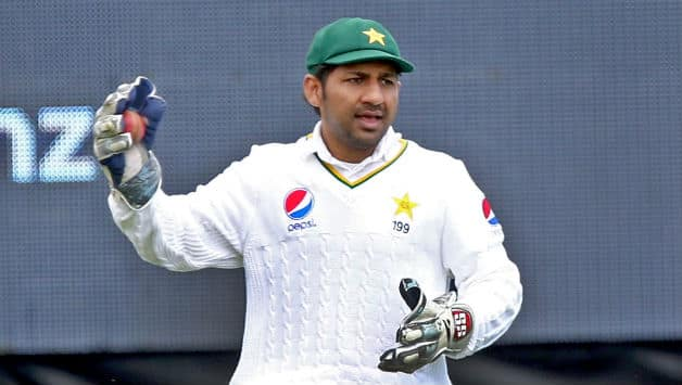 Image result for sarfraz in test