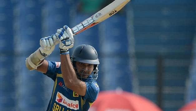 Kumar Sangakkara is currently playing in BBL 06 © AFP