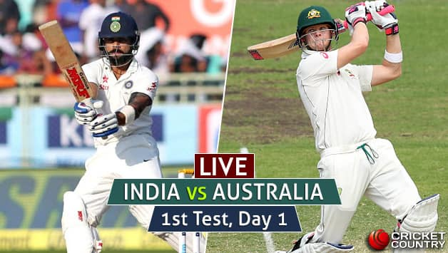 LIVE:  Australia off to a watchful start
