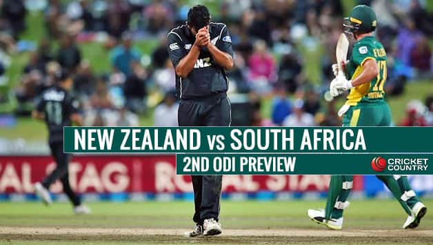 2nd ODI at Christchurch: Preview