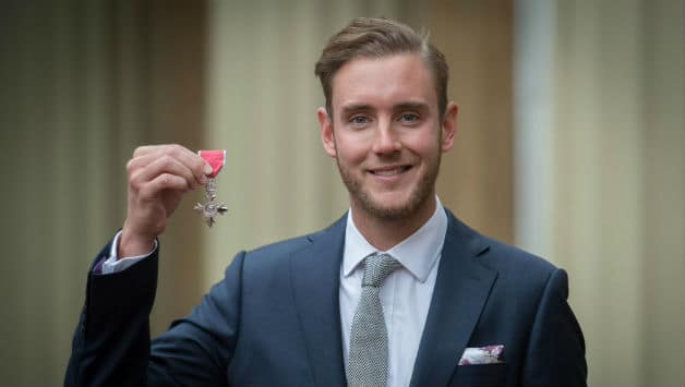 Stuart Broad honoured with MBE - Cricket Country