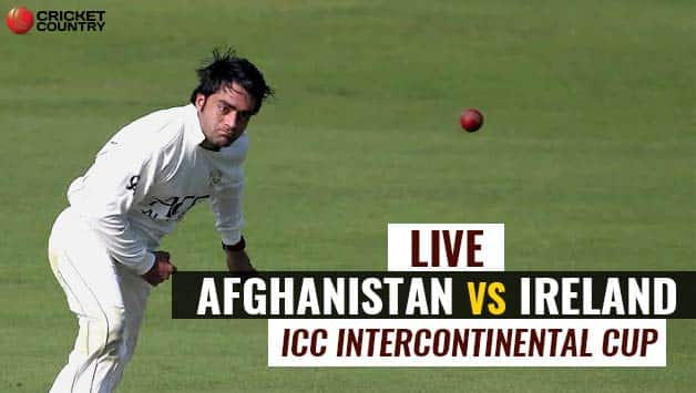Ireland Vs Afghanistan: Live Cricket Score, Afghanistan Vs Ireland, ICC