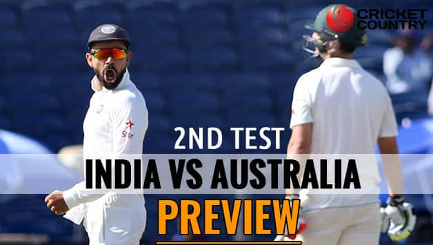 India vs Australia 2nd test Preview