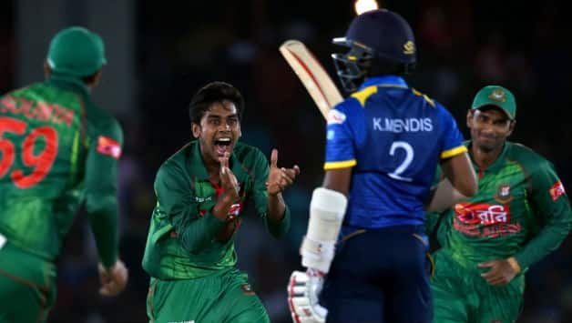 Bangladesh thrash Sri Lanka by 90 runs; lead 1-0