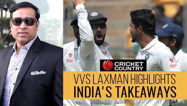 VVS Laxman India Australia 2nd Test Bengaluru