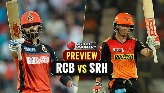 Highlights, Royal Challengers Bangalore (RCB) vs Sunrisers ...