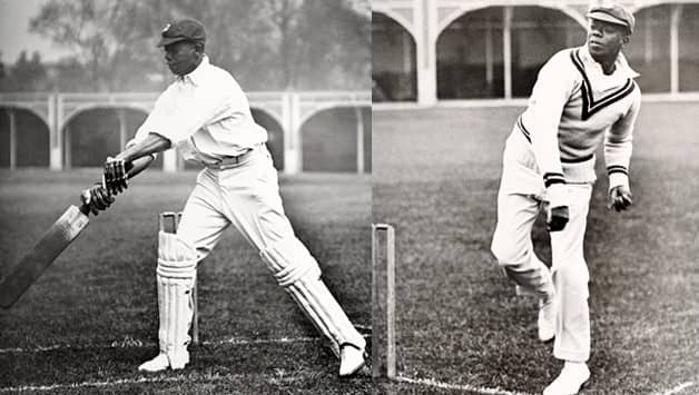 'Snuffy' Browne at practice at Lord's circa 1928. Getty Images
