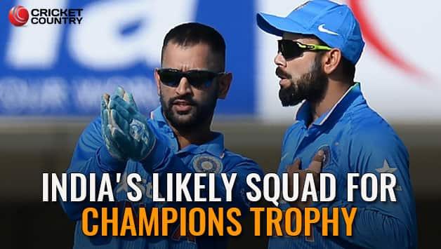 Cricket Tournament Anouncment Wording: ICC Champions Trophy 2017: India Squad Announcement Kept