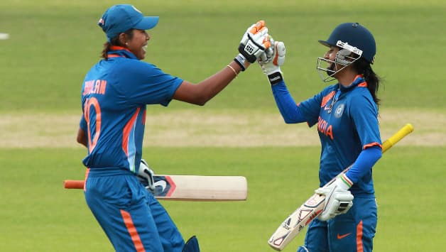 Image result for mithali raj and jhulan goswami