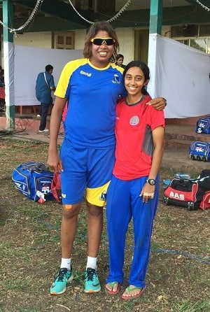 My first face-to-face encounter with Jhulan Goswami was in Hyderabad in 2007. As I watched from the stands that day, my loyalties were severely tested. Photo: Ananya Upendran.