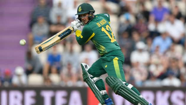 Quinton de Kock took his time in the middle to bring back some of his lost form © Getty Images
