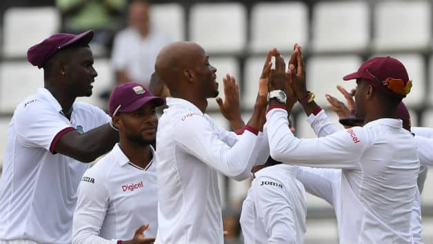 Dominica Test: Windies crawl to 218-5 at stumps against Pakistan