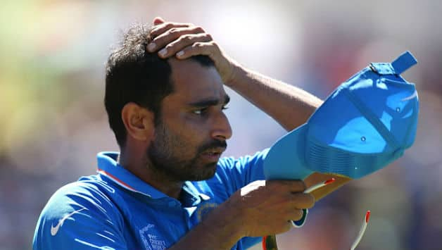 Mohammed Shami last played an ODI in 2015 World Cup © Getty Images