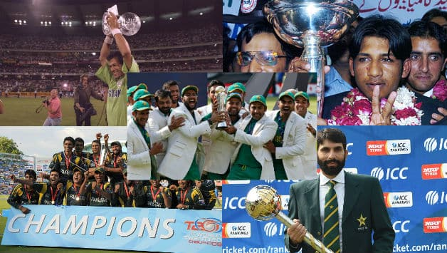 Pakistan are now the 7th team to win the ICC Champions Trophy © Getty Images and AFP