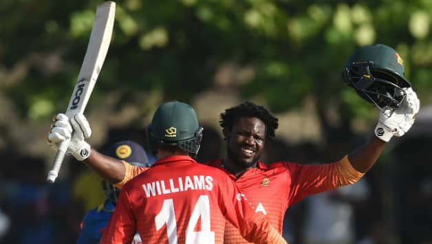 Zimbabwe edge Sri Lanka in ODI cricket tie