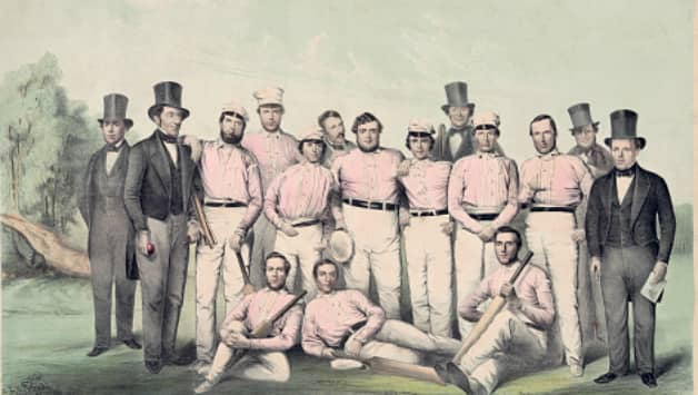 Boston cricket team, 1850 © Getty Images
