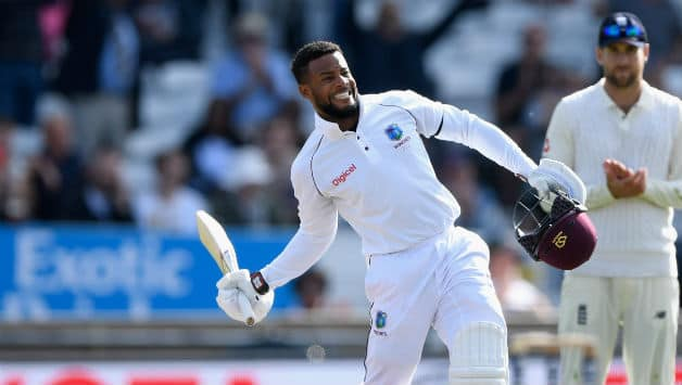 Shai Hope scored centuries in both innings © Getty Images