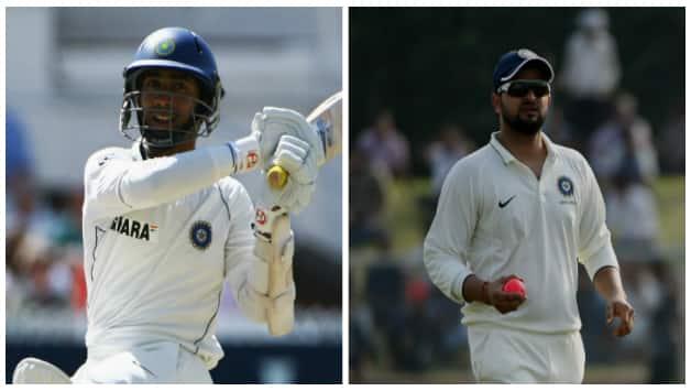 Dinesh Karthik and Suresh Raina © Getty Images and AFP