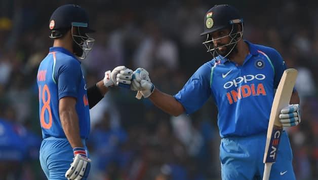 Virat Kohli and Rohit Sharma © AFP