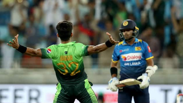 Hasan Ali alongside Rumman Raees finished with 3 wickets (Image courtesy: Getty)