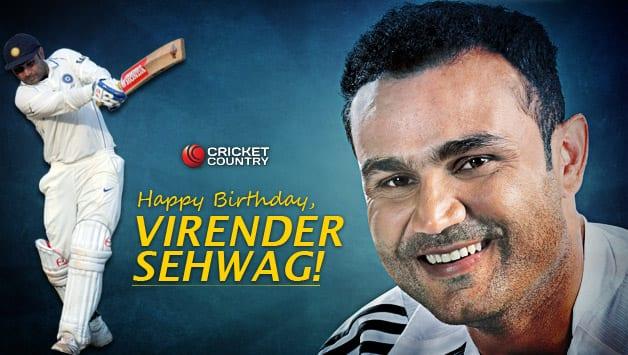 Virender Sehwag turns 39.