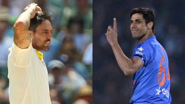 Mitchell Johnson gets trolled back for having twitter banter involving Ashish Nehra