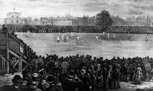 The iconic 1882 Test at The Oval © Getty Images