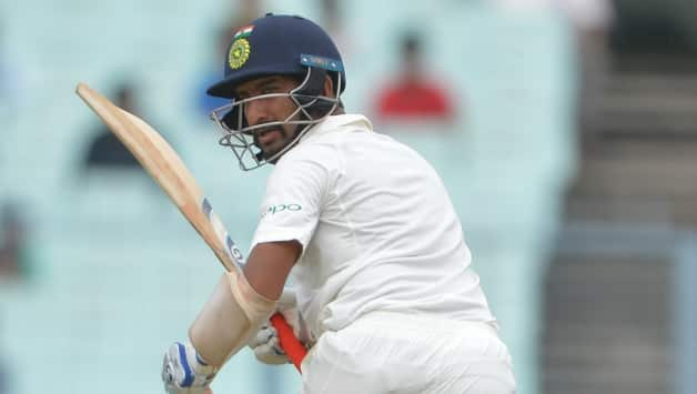 Cheteshwar Pujara becomes 3rd Indian to bat on each day of a Test match