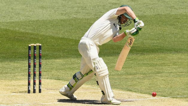 Jake Doran becomes first concussion substitute player to bat in a first-class match
