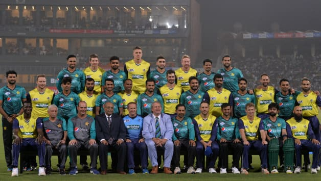 World XI toured Pakistan for 3 T20Is that the host won by 3-0 © AFP