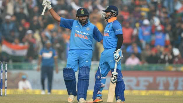 Rohit Sharma and Shreyas Iyer © AFP