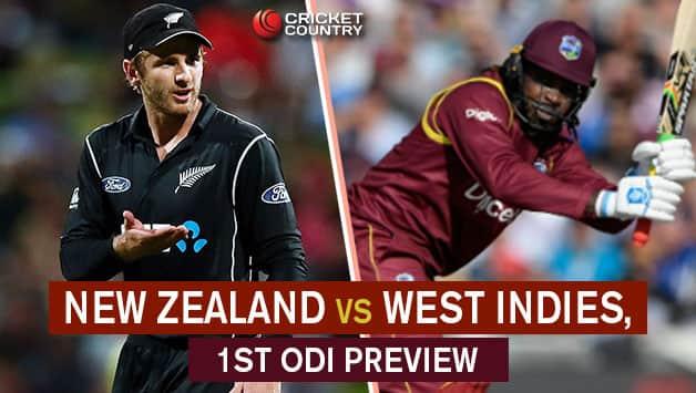 West Indies batsmen Chris Gayle in doubt for second ODI against Blackcaps