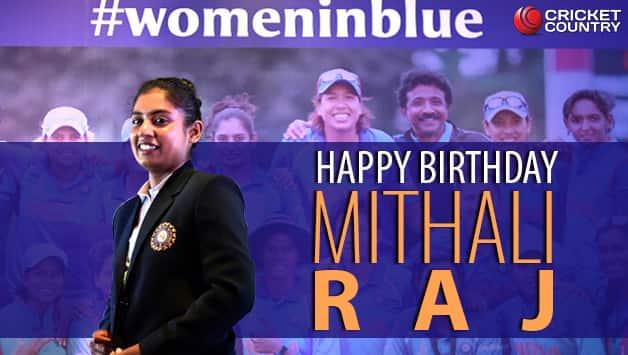 Happy Birthday Mithali Raj; Sachin tendulkar, Suresh Raina and others wishes the queen of cool