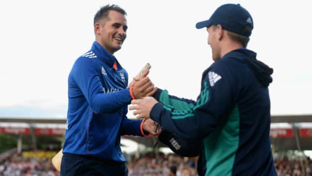 Alex Hales and Eoin Morgan © Getty Images