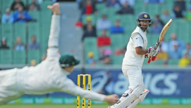 Smith has scored as many hundreds as Pujara did in 2017 © Getty Images