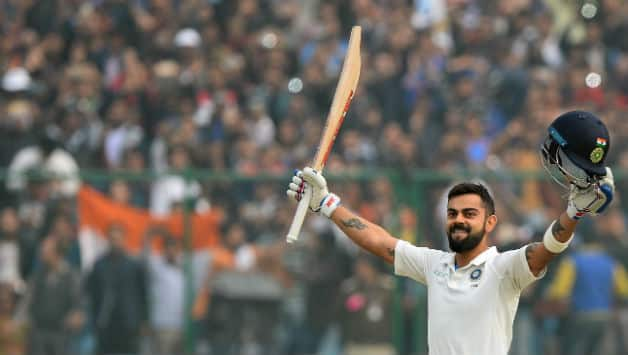 Virat Kohli reached his sixth double-hundred in 238 balls © AFP