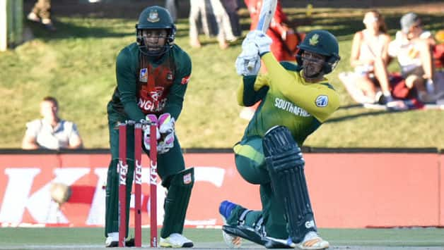 Quinton de Kock's 168* against Bangladesh was one of the finest ODI knocks this year © AFP