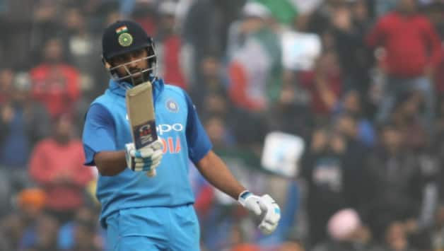 Rohit Sharma registered his 50th fifity-plus score in ODIs © IANS