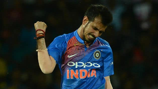 Yuzvendra Chahal becomes 1st Indian bowler to take three four-fors in T20Is