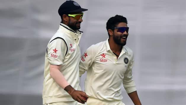 Shikhar Dhawan and Ravindra Jadeja © AFP