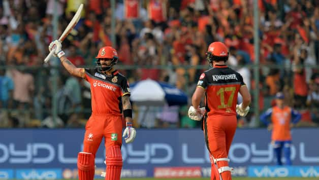 RCB had surprised no one by retaining Virat Kohli and AB de Villiers and everyone by retaining Sarfaraz Khan © AFP