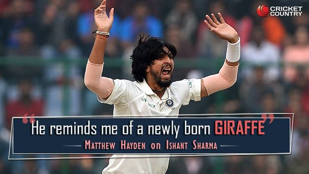 Ishant Sharma turns into an animal for a day? © AFP