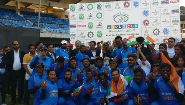 Blind Cricket World Cup: India beat Pakistan by 2 wickets to win their 2nd title