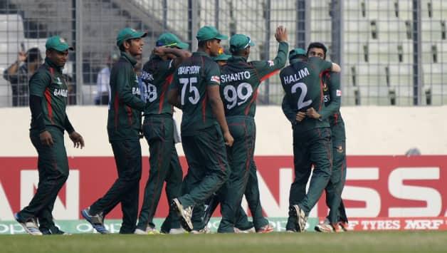 Bangladesh Under-19 team won their first match © Getty Images