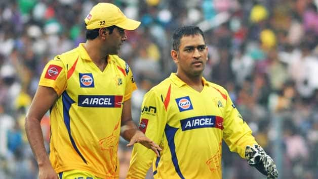 Ravichandran Ashwin (left) and MS Dhoni will look to continue their potent captain-bowler combination © IANS