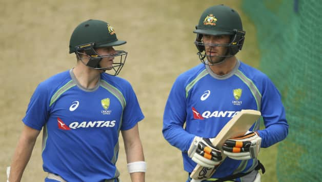 Steven Smith and Glenn Maxwell © Getty Images