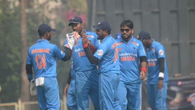 Blind World Cup 2018: India beat Pakistan by 7 wickets