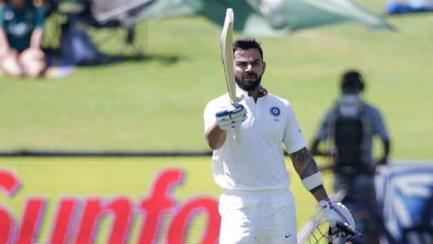 Virat Kohli the only century maker for India in Tests away from home in 2018 (Photo - AFP)